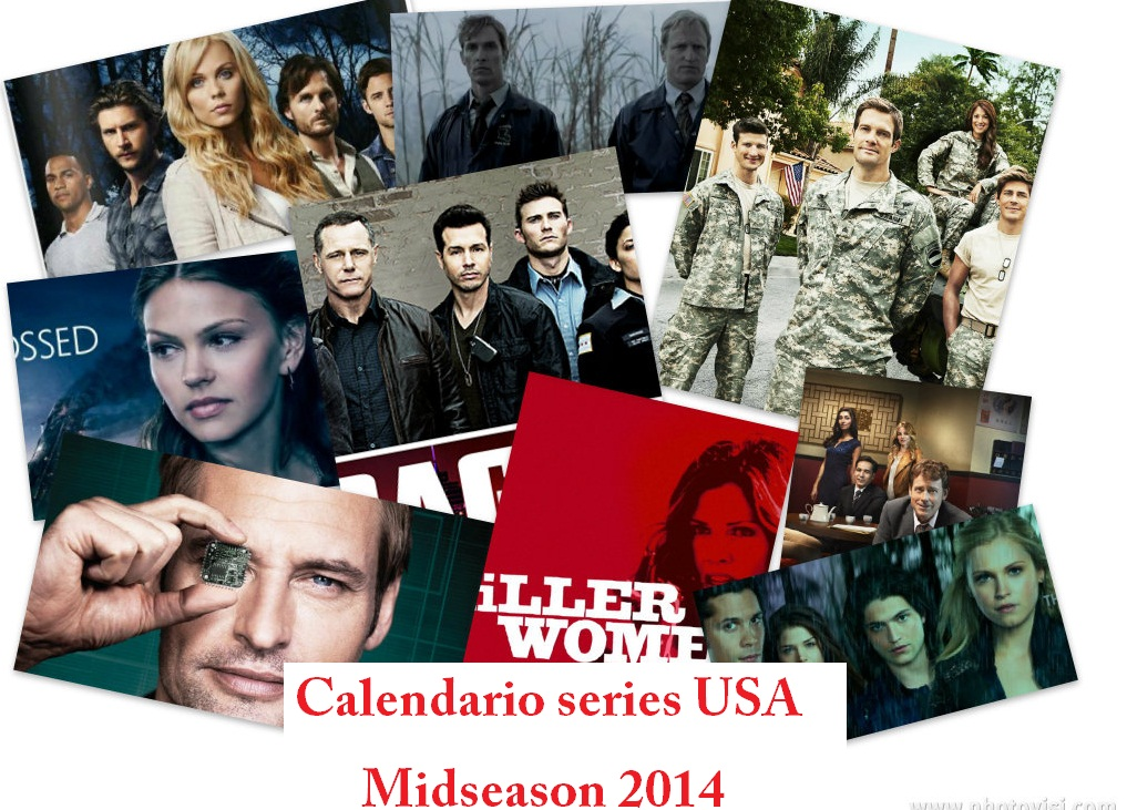 Calendario series midseason 2014 (enero-abril)