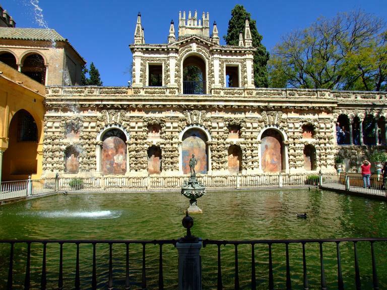 El Alcázar de Sevilla se convertirá en los Jardines del Agua de Dorne